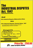 Industrial Disputes Act with Central and Maharashtra Rules