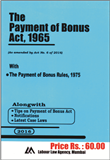 Payment of Bonus Act with Rules