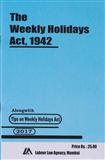 Weekly Holidays Act